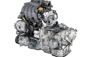 Двигатель «Ниссан» 1,6л 110л.с. Н4М K-1 (HR16DE)
