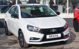 Lada Vesta Black Edition