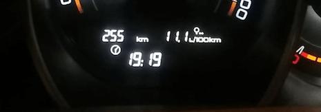 реальный расход топлива мотора 1,8